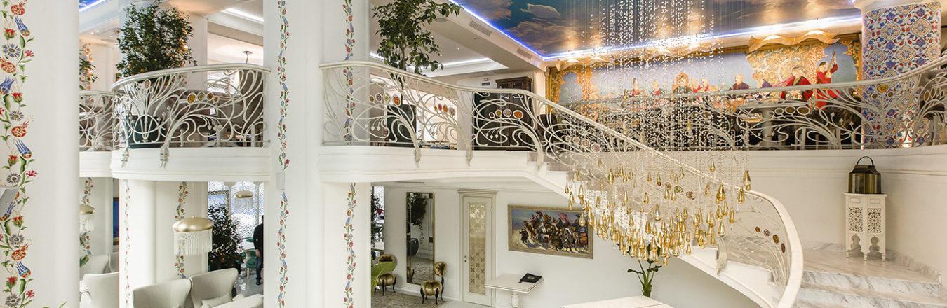 Красивый ресторан для свадьбы в Киеве - Shah Plov